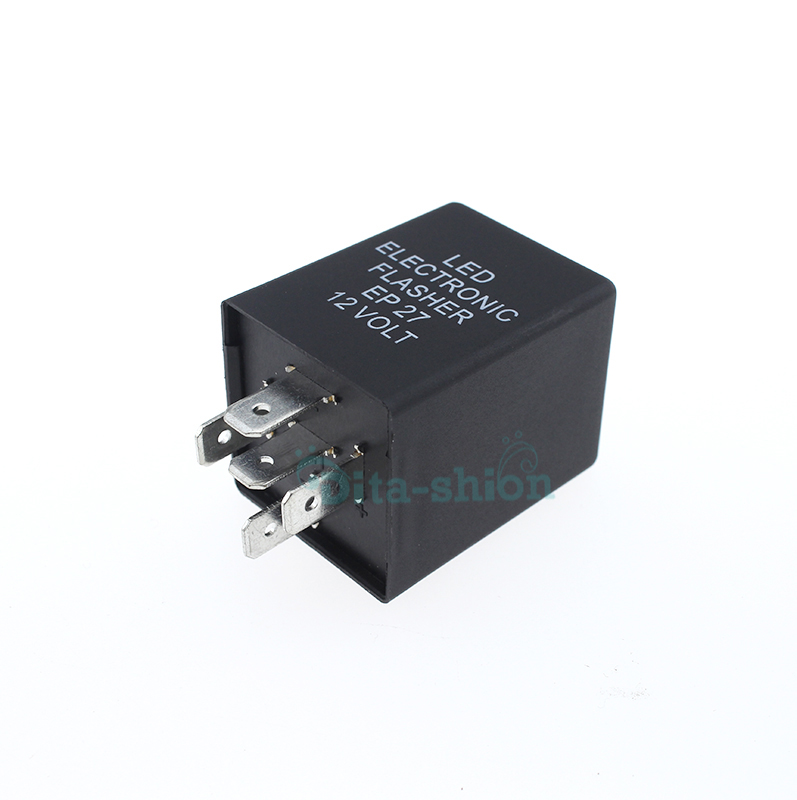 5 Pin 12v Electronic Led Car Flasher Relay Turn Signal