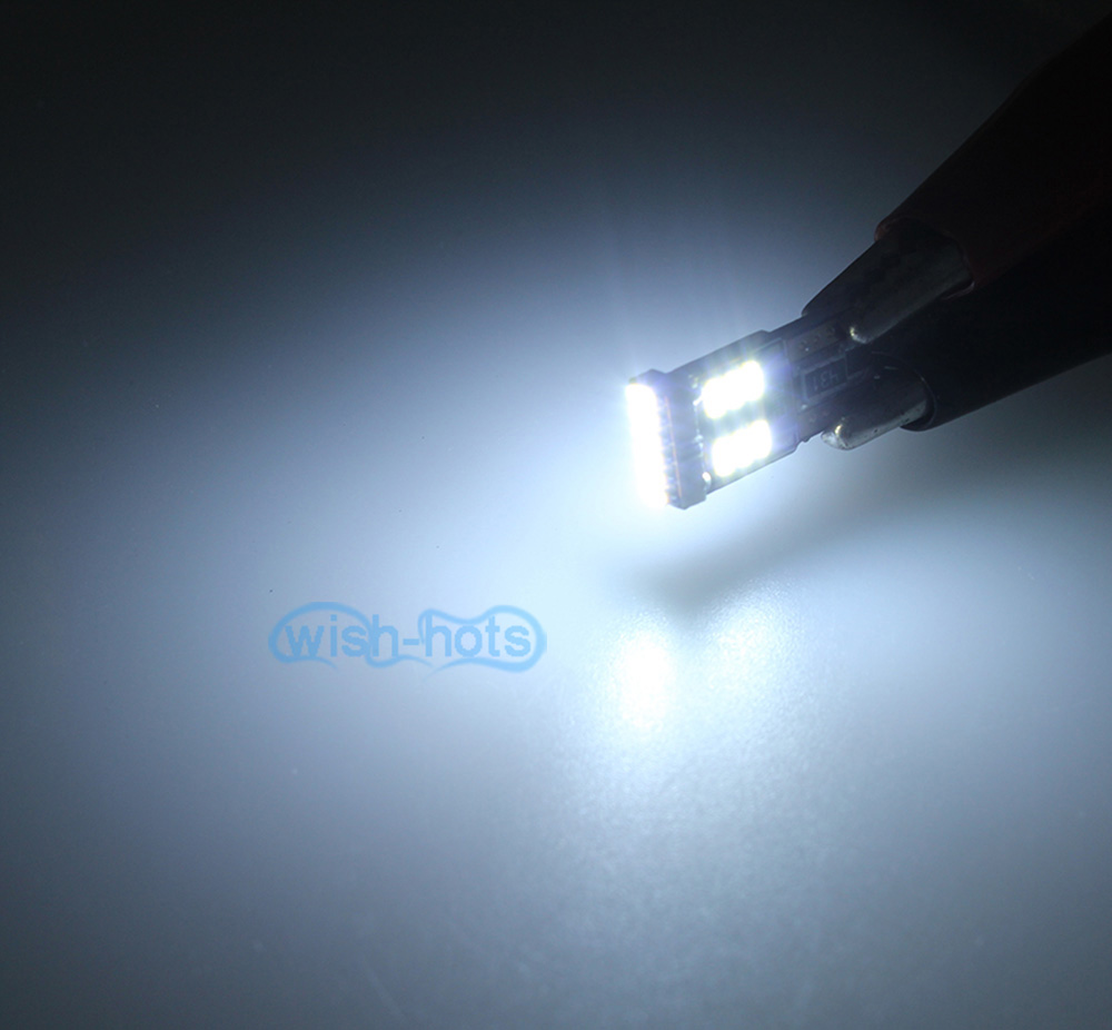 White 18smd Led Side Mirror Spot Puddle Light For 2007