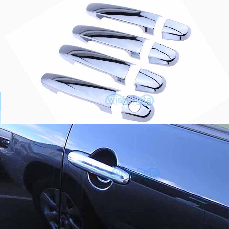 check year Toyota Corolla Camry Highlander RAV4  Chrome 4 Door Handle Covers