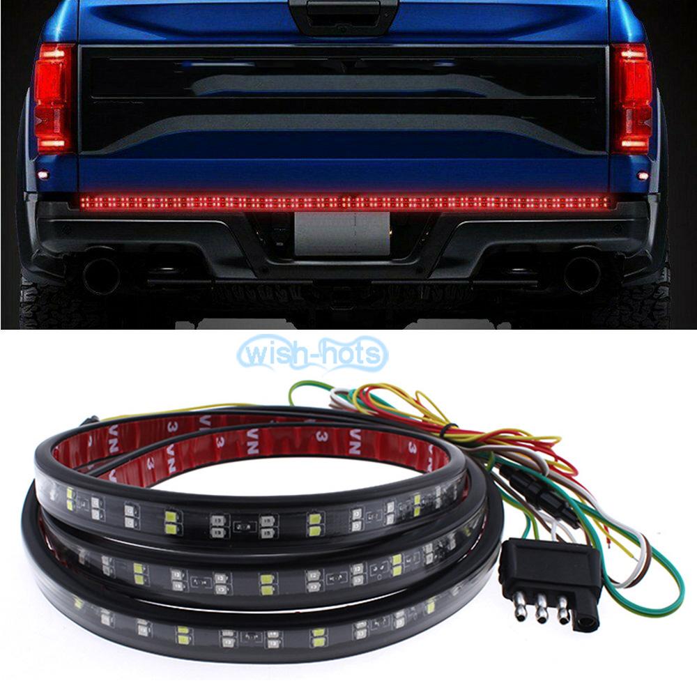 """60/""""LED Multi-Function Strip Tailgate Bar Reverse Brake Turn Signal Light for SUV"""