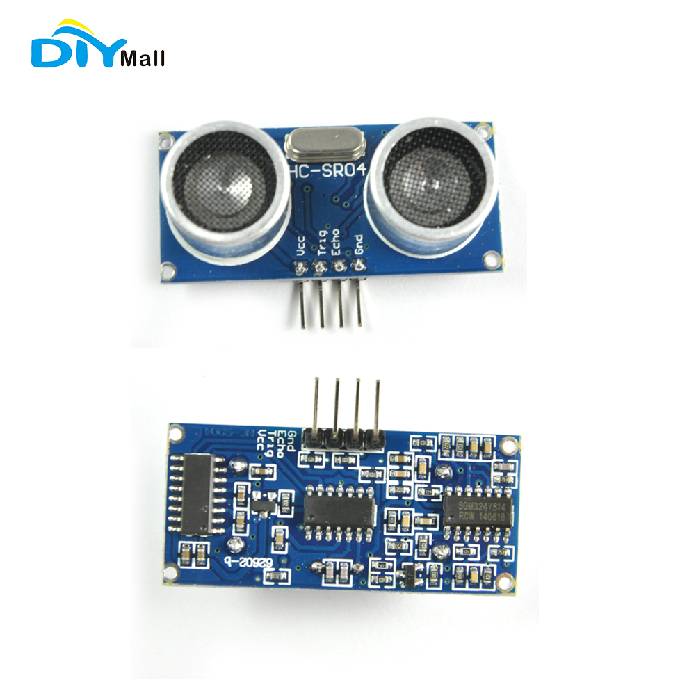Details about HC-SR04 Ultrasonic Sensor Distance Measuring Module for  Arduino PICAXE Microcont