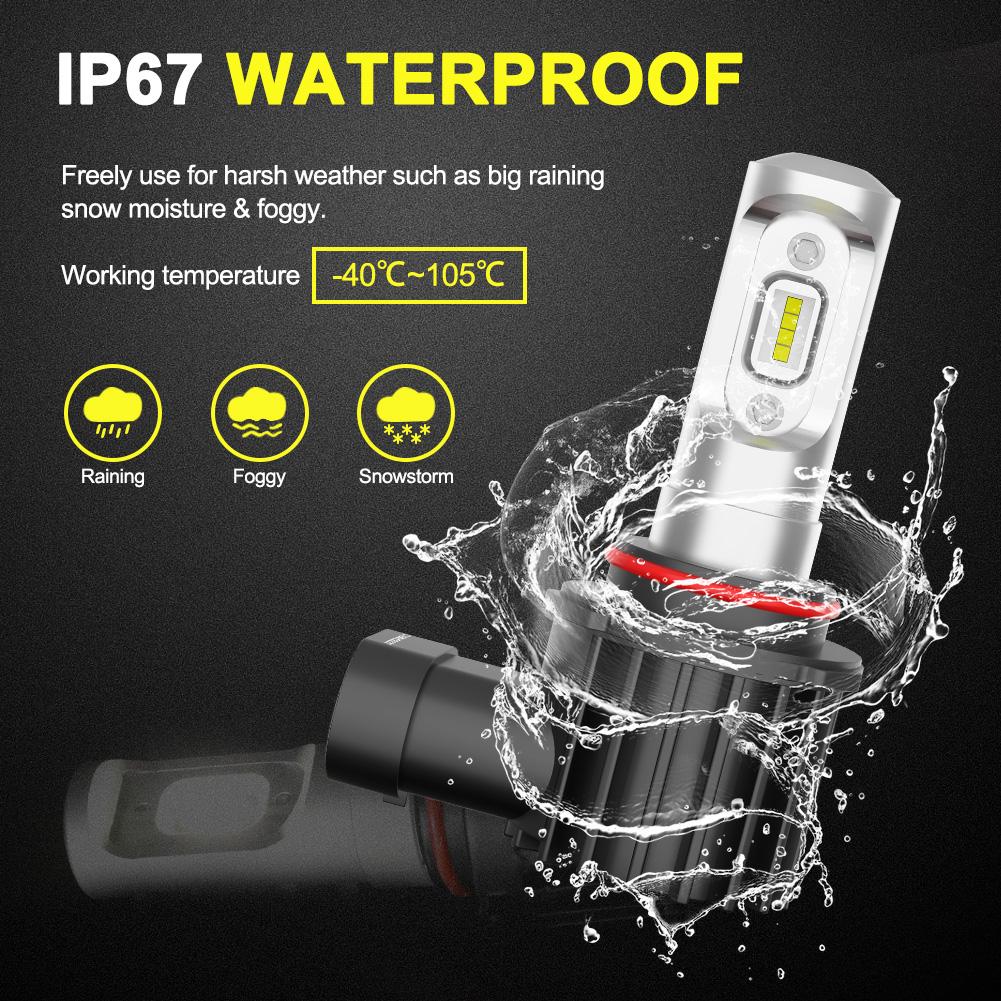 2x PHILIPS 36W 9005 HB3 LED Headlight Bulb Kit Replace ...