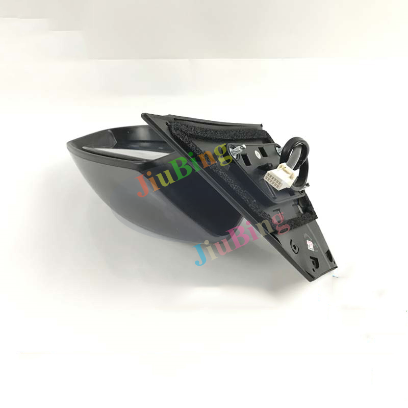 Left Driver Side Silver Rear View Rearview Mirror For Nissan Sentra 2012-2016