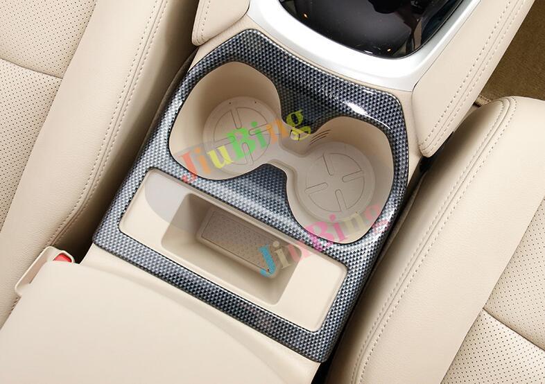Interior Gear Shift Knob Cover Decoration Trim 2pcs for Nissan X-Trail 2008-2013