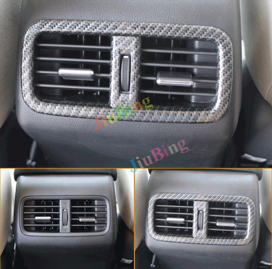 Matt Front Rear air condition vent cover trim 7pcs For Honda CRV 2012-2015