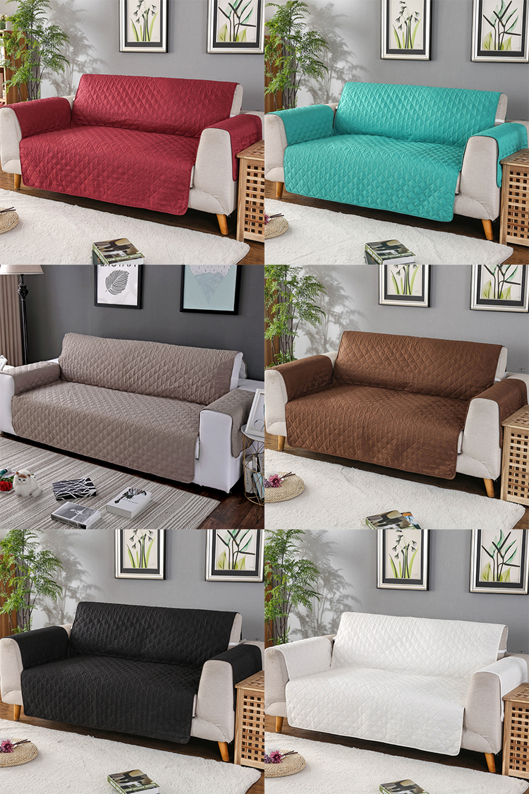 Slipcovers Sofa Non Slip Furniture Protector Cover Pet