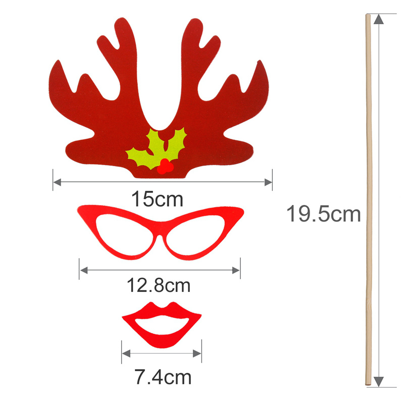 Birthday Party Diy Decor Photo Booth Props Mask On A Stick