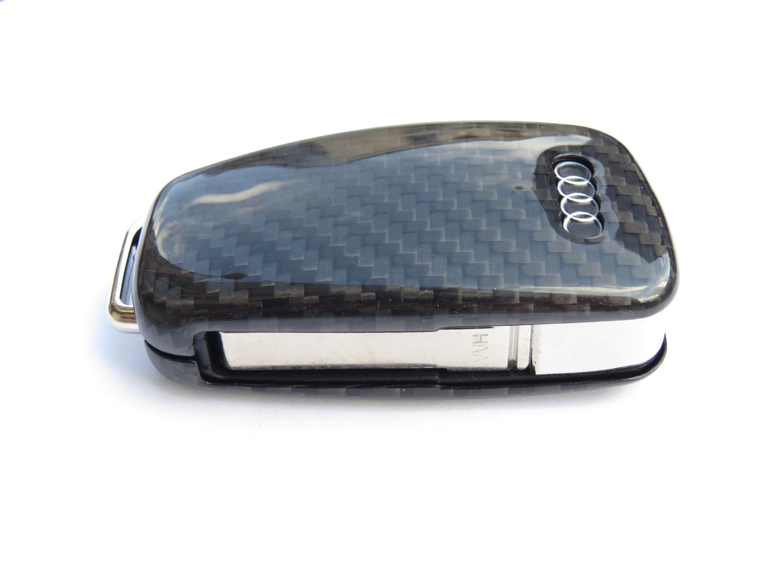 pinalloy carbon fiber schl ssel cover h lle key case fall. Black Bedroom Furniture Sets. Home Design Ideas