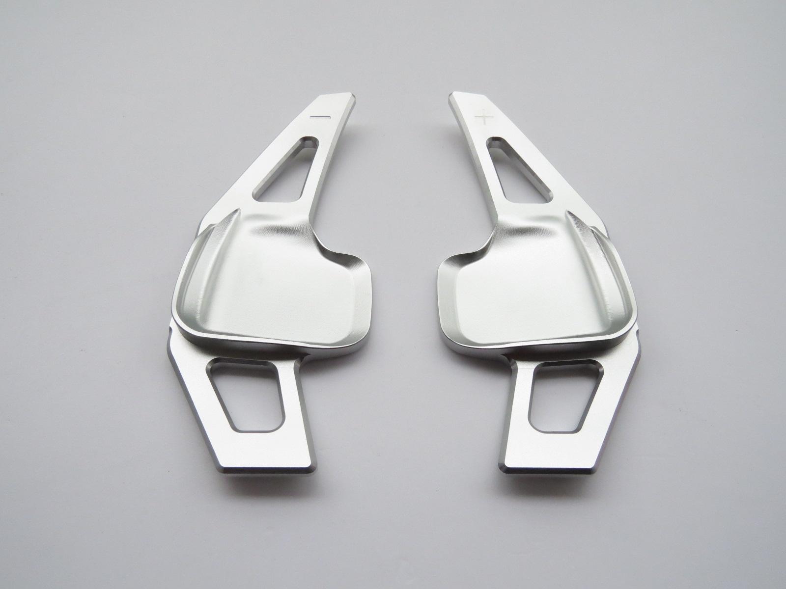 Pinalloy Silber alloy Schaltwippen Schaltpaddel BMW F10 F15 F20 F26 F30 F32 F33