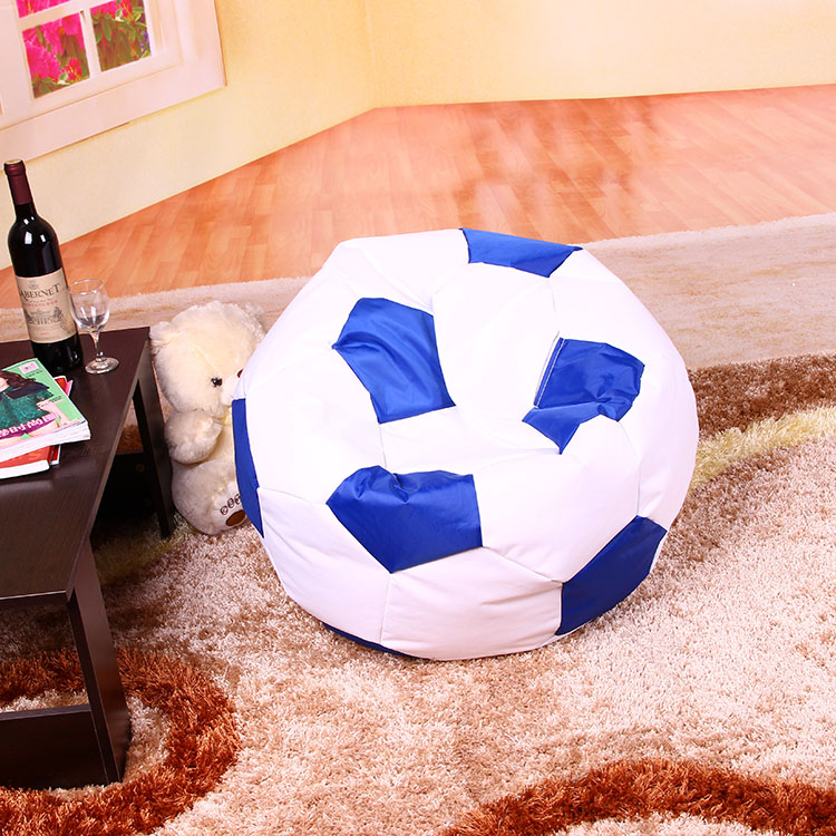 Pu Leather Football Soccer Ball Bean Bag Chairs Cover
