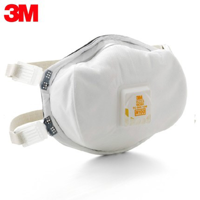 Heavy Dust Details 5 3m About 8233 Particulate Pm2 Metal Anti-dust Mask Virus N100 Respirator