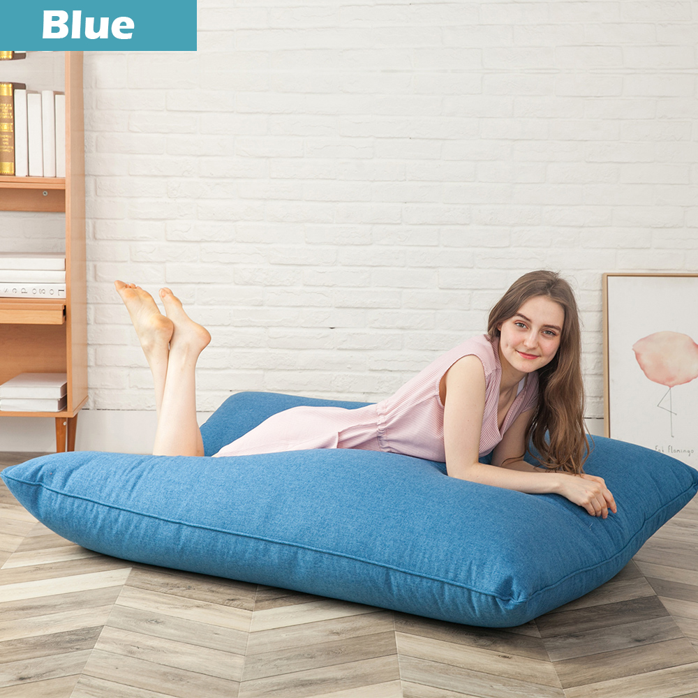 Lazy Single Bean Bag Chairs Bed For Adults Kids Couch Sofa