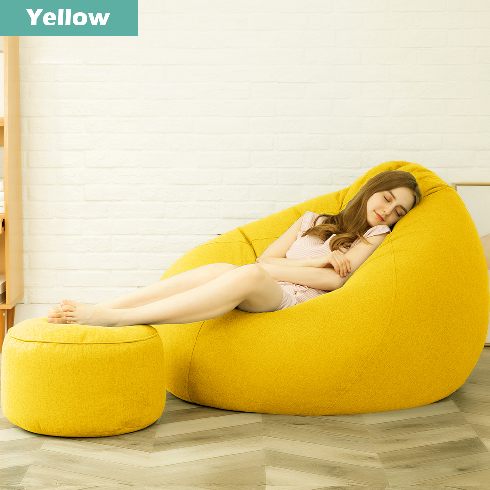 Extra Large Bean Bag Chairs For Adults Couch Sofa Cover