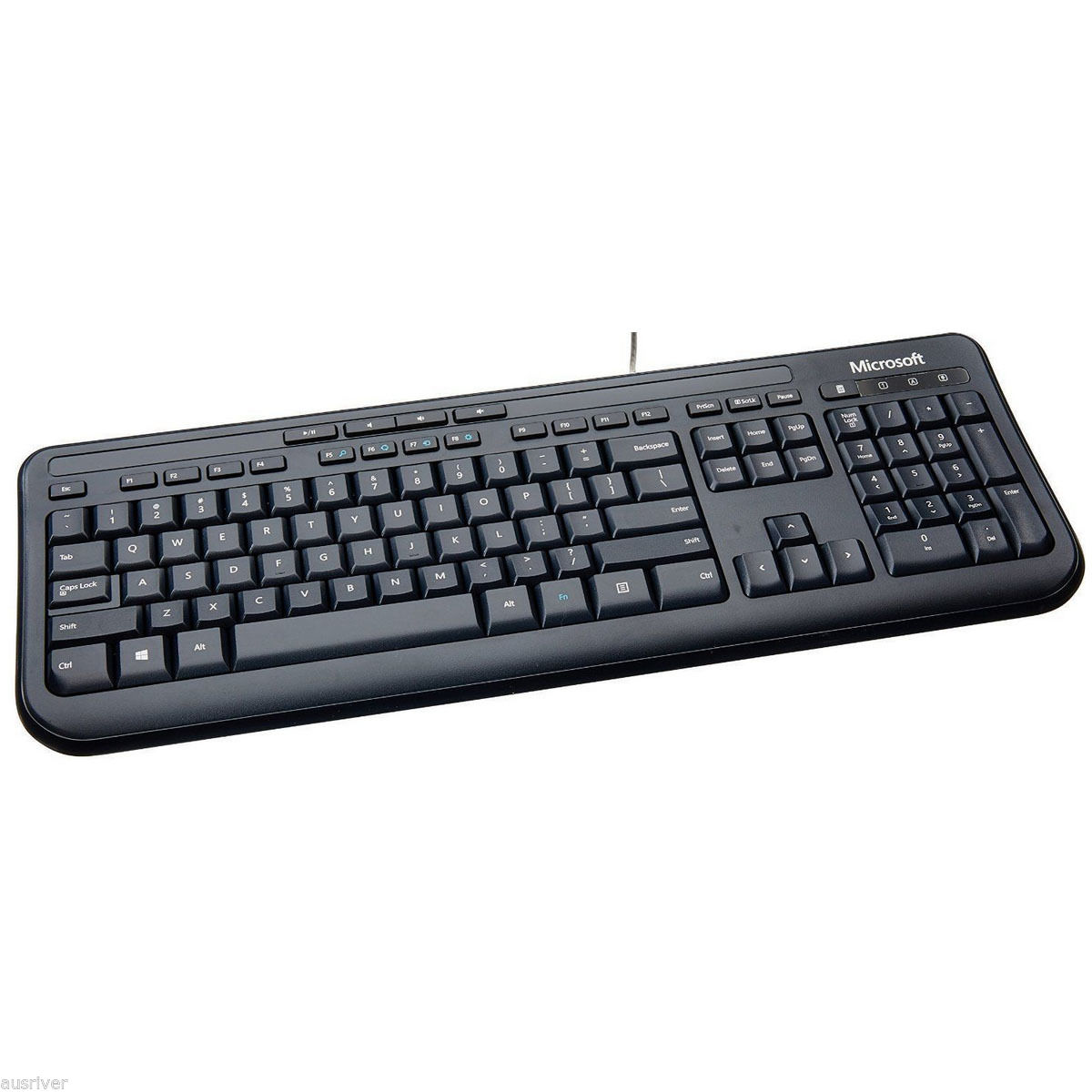 microsoft wired desktop 600 usb membrane standard keyboard and mouse combo 882224742146 ebay. Black Bedroom Furniture Sets. Home Design Ideas