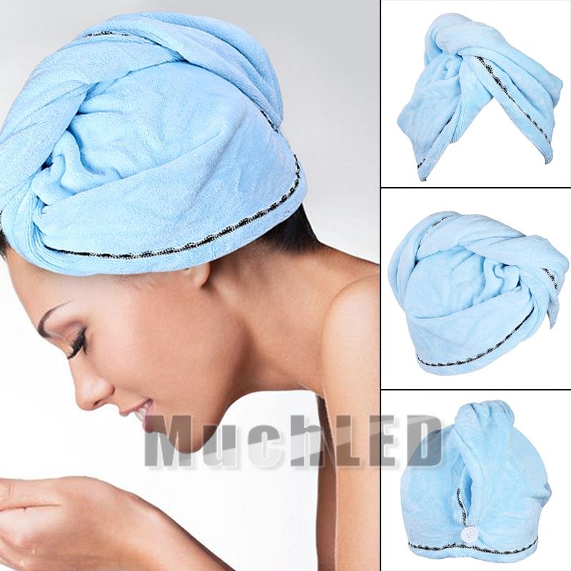 Rapid Drying Hair Towel Thick Absorbent Shower Cap Shower Hat Hair Direr Soft.