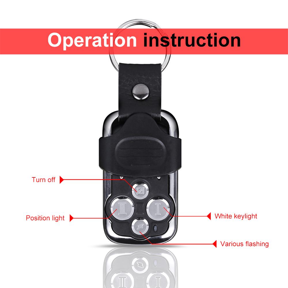 Autofeel Led Bar 12v Remote Control Dual Color Stroboflash Wiring Spot Light Diagram Car Amber White Harness Kits