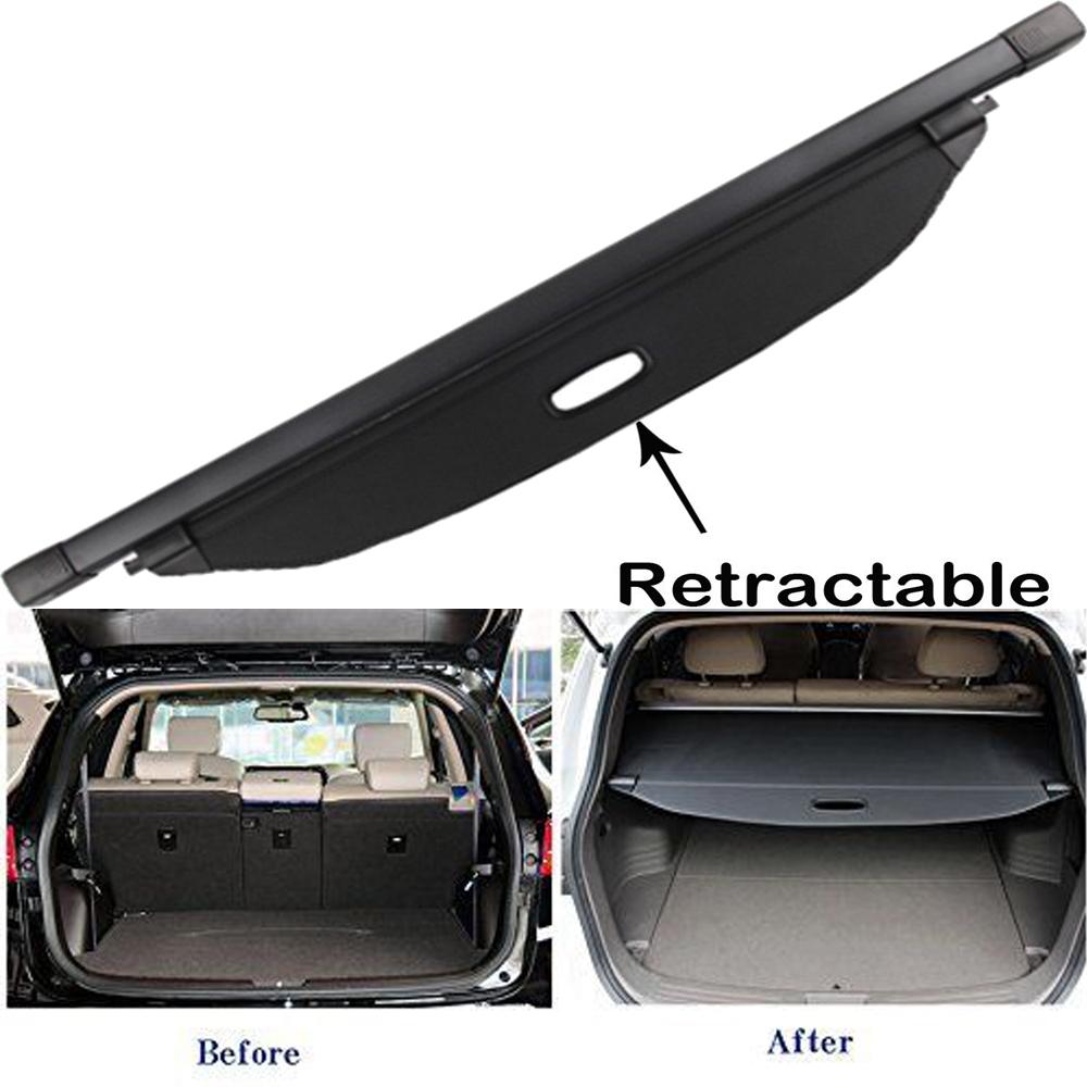 For 2014 2015 Kia Sorento Retractable Cargo Cover Rear Trunk