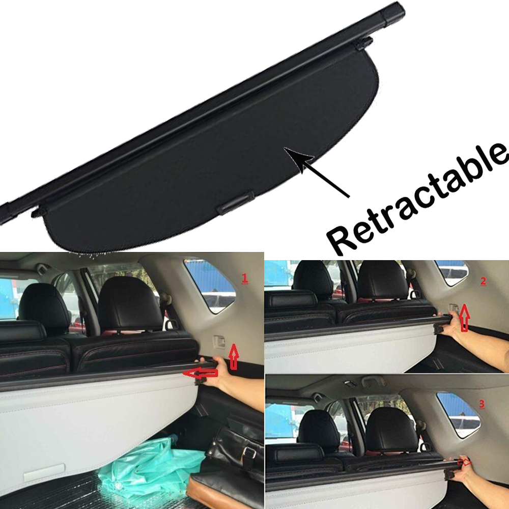 For 2014-2018 Toyota Highlander 2 captains Cargo Cover Security Rear Trunk Shade