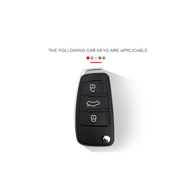 raspbery 3 Botones De Fibra De Carbono Estilo Smart Remote Key Key Cover Entrada Sin Llave Control Remoto Key Protector Shell Piezas Clave Para Autos handsomely Apto Para 2016-2018 Ford Explorer