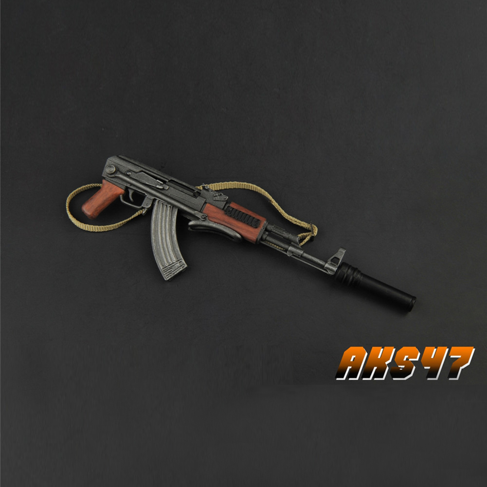 """ZYTOYS 1//6 Scale AK47 Plastic Model for 12/"""" Action Figure ZY2008"""