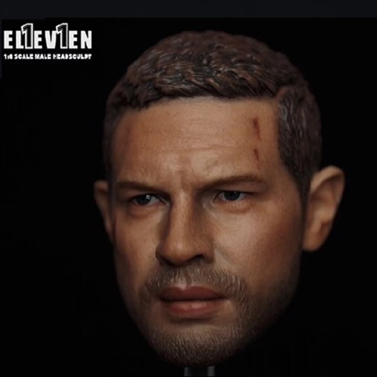 Venom Tom Hardy Mad Max 4 1//6 Head Carving Unpainted Sculpt Model Accessory