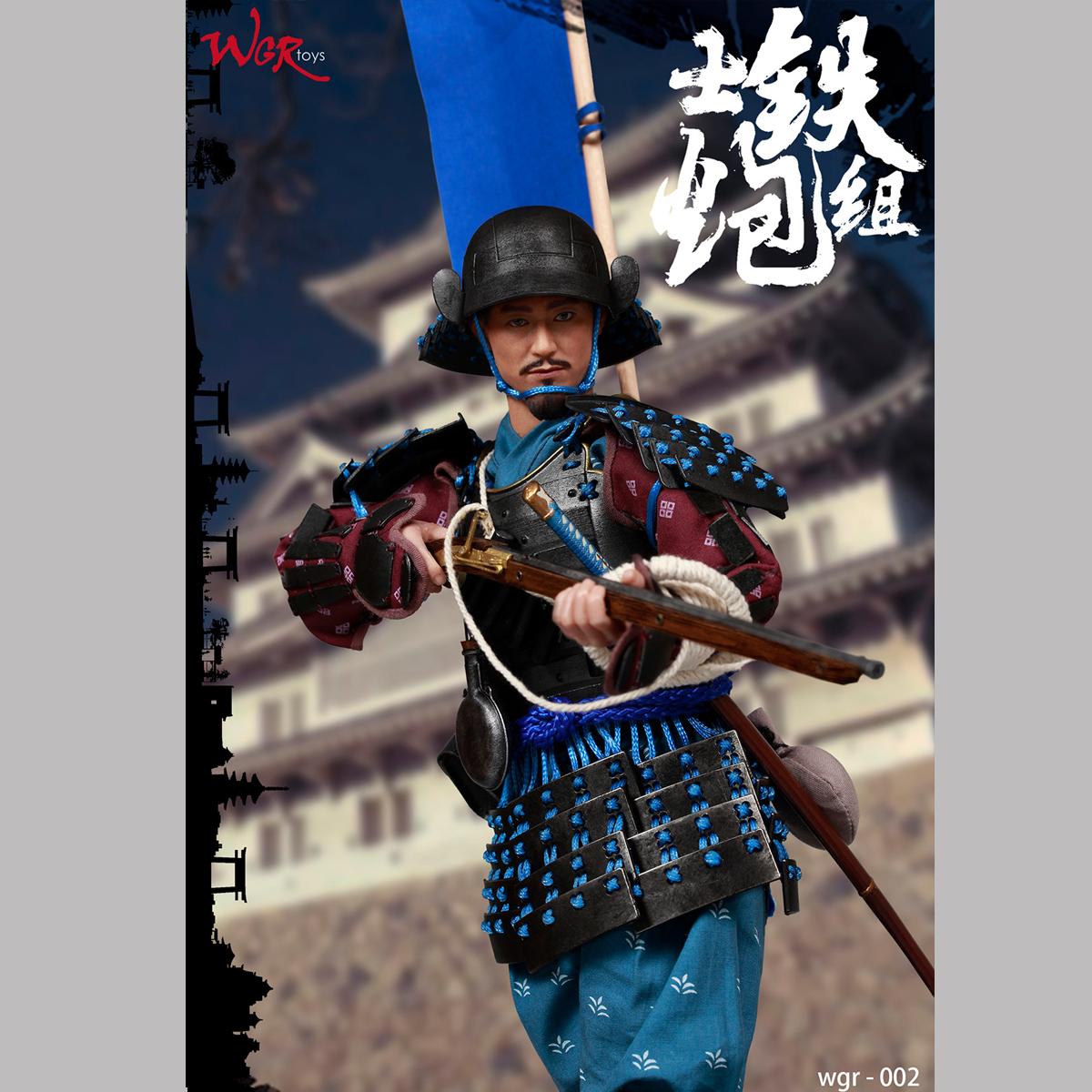 in stock WGRtoys WGR002 1//6 Samurai Gunner Group Captain Combat Action Figure