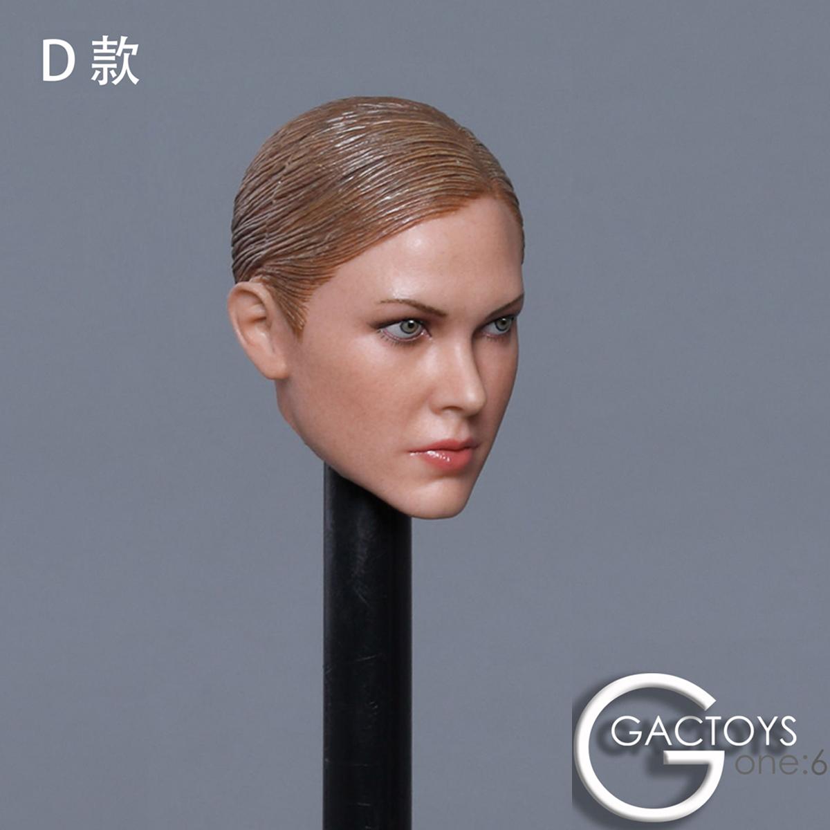 """GACTOYS GC024C 1//6 Scale Female Head Sculpt fit for 12/"""" Action Figure"""