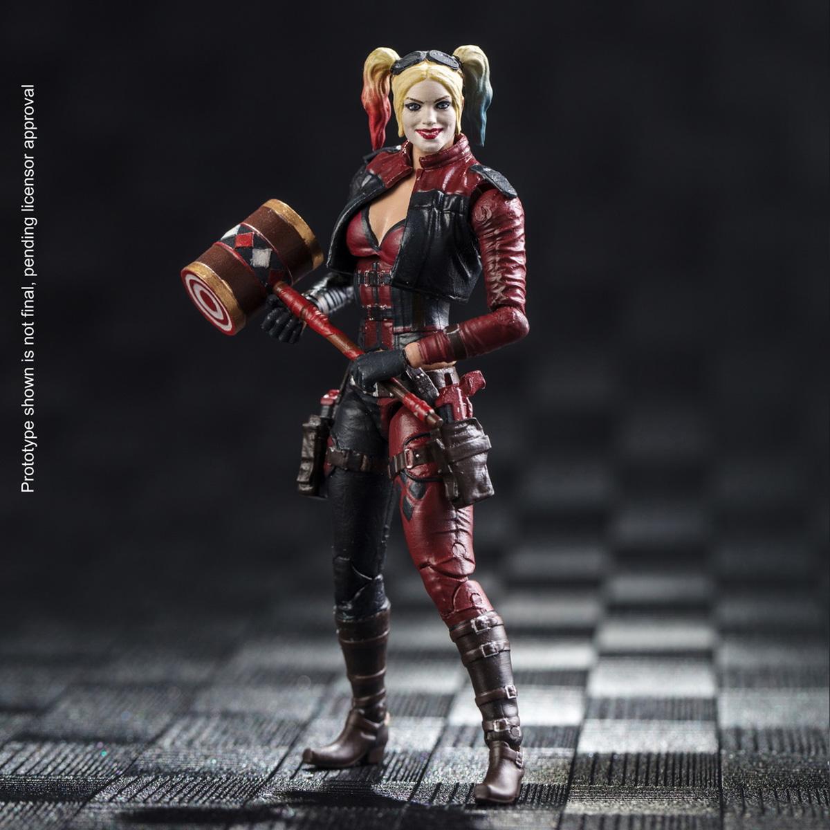 Hiyatoys 1 18th Harley Quinn Injustice 2 Female Action