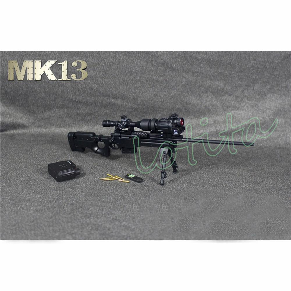 ZY TOYS 1/6 M500 Pistol Toy Black Plastic Gun Model