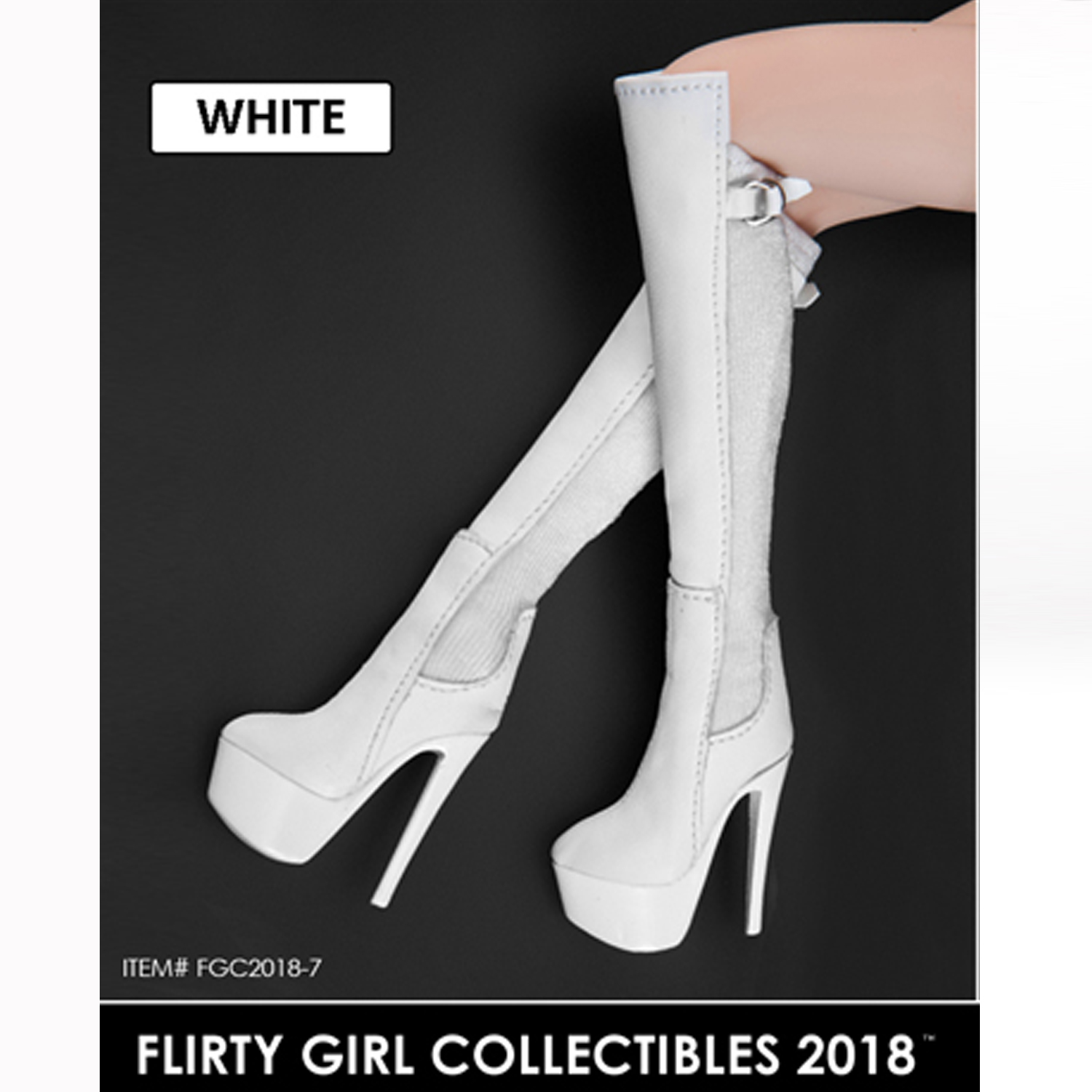 good looking special for shoe best sale 1/6 FLIRTY GIRL FGC2018-7/8/9 Women's High Heels Boots Female ...