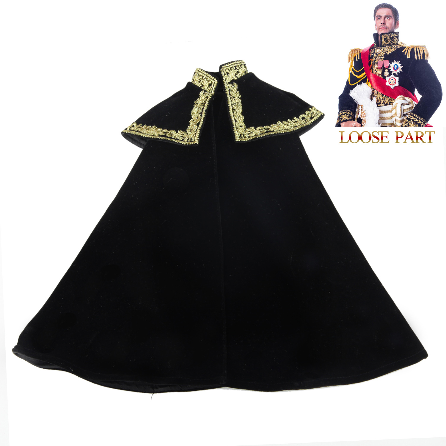 Brown Art 1//6 Scale B-A0004 Napoleon Series Marshal of France Cloak Model
