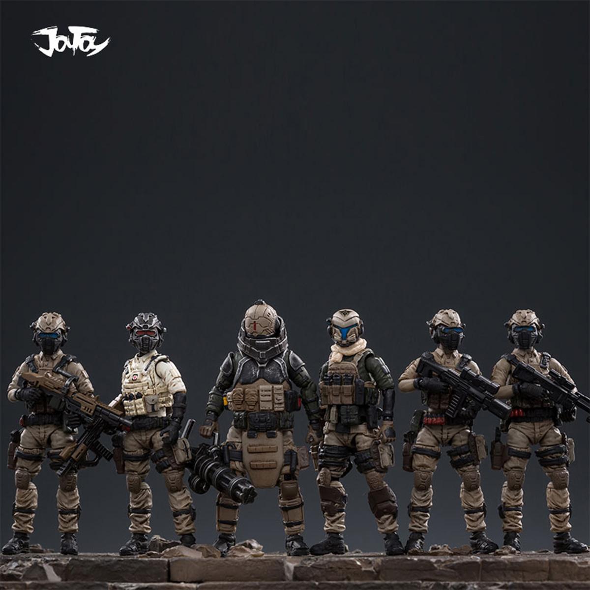 JOYTOY 51941011 1//25 Battlefield Field Command Center Scene Figure Toy