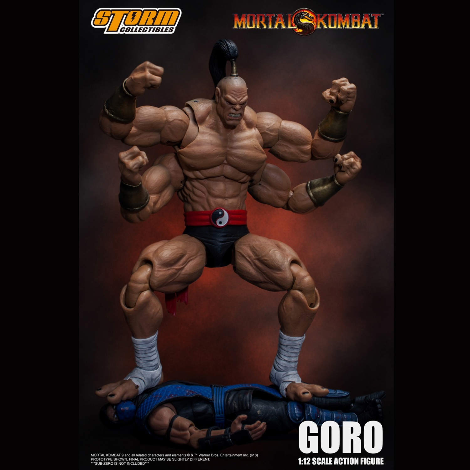 Storm Toys 1 12 Prince Goro Mortal Kombat Series Action Figure