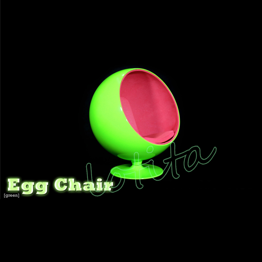 """ZY TOYS 1//6 Scale Red /& Blue Egg Space Chair Sofa Modle 12/"""" Action Figure Body"""