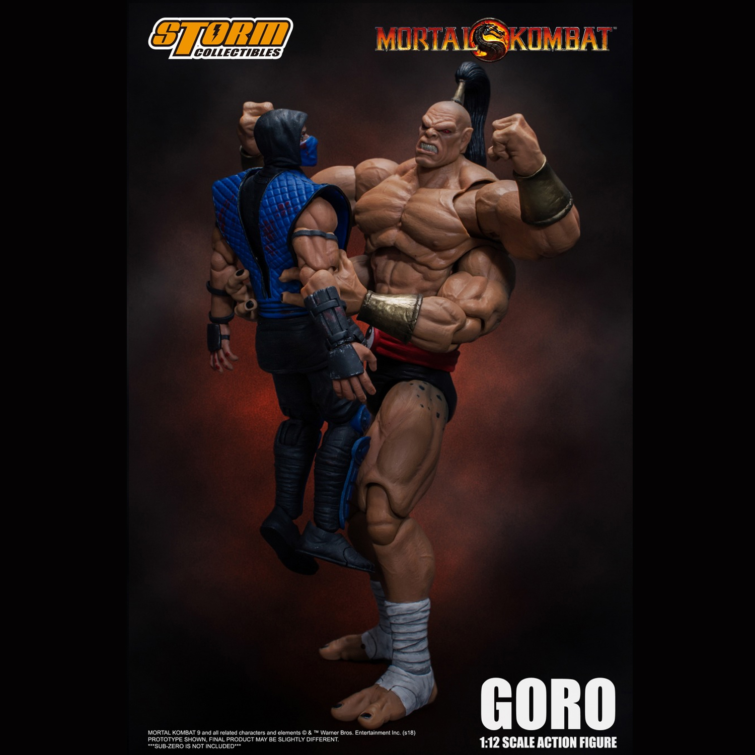 Details about Storm Toys 1/12 Prince GORO Mortal Kombat Series Action  Figure Collectibles New