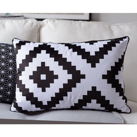 18x18-039-039-24x16-039-039-Black-White-Geometric-Style-Pillow-Case-Suede-Cushion-Cover