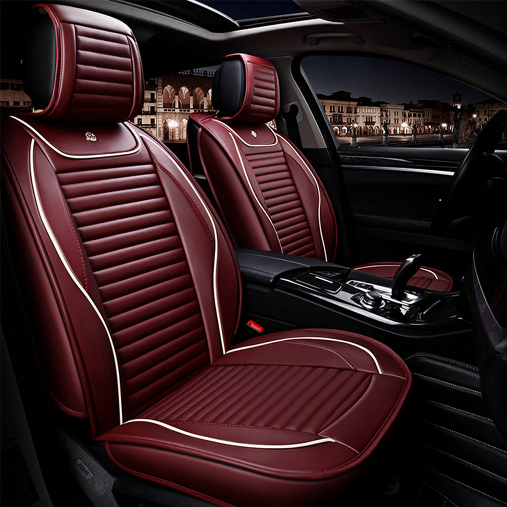 BLACK FRONT CAR SEAT COVERS MAZDA 3 HIGH QUALITY ELEGANT JACQUARD