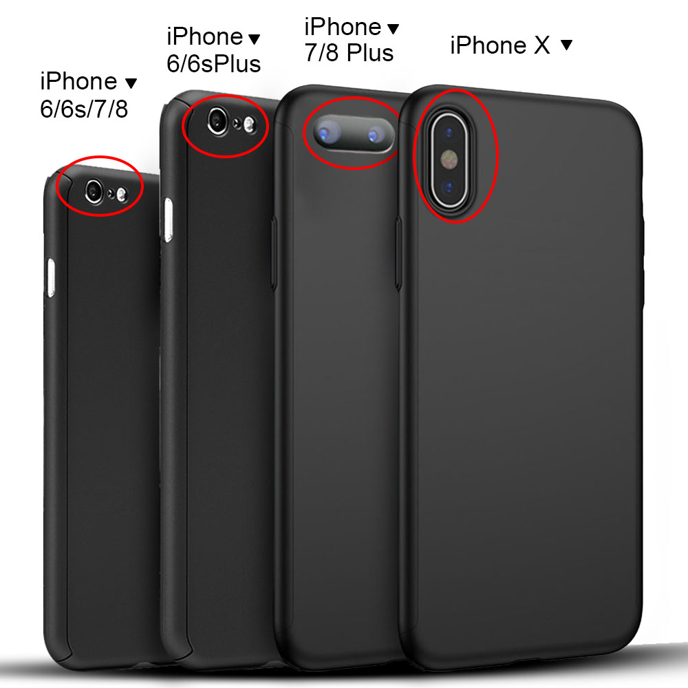 iphone 6 x 360 176 protective shockproof cover screen protector for iphone x 7 6s 6 plus ebay