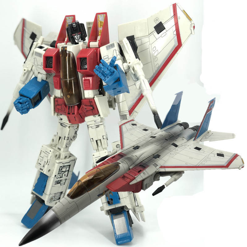 Transformation Robot Formers Oversized MP11 CG 01 Skywarp Starscream Figure