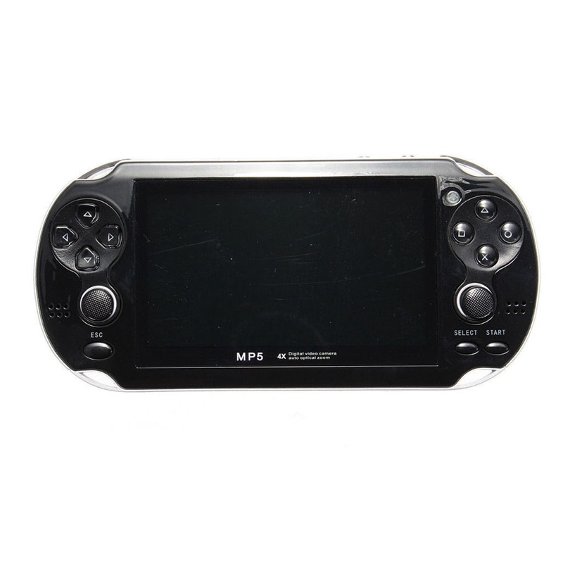 5'' Portable Game Consoles 8GB Handheld PSP Player Builtin