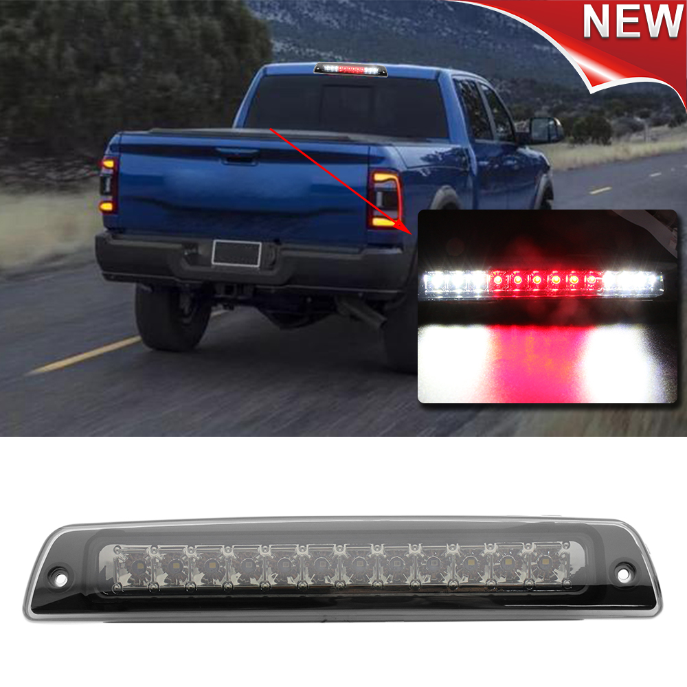Smoke Led 3rd Brake Cargo Light For 1994 2001 Dodge Ram