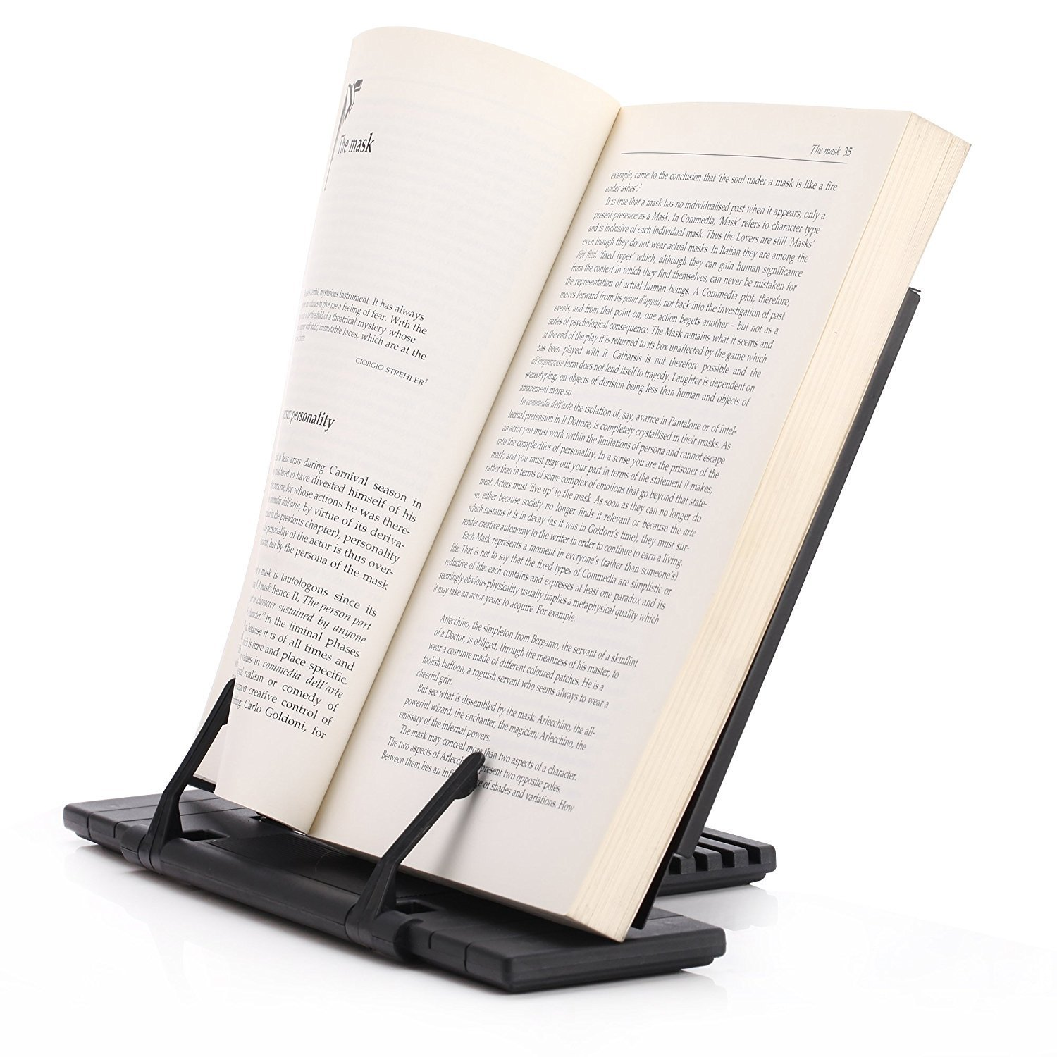 metal portable steel bookstand laptop document stand holder