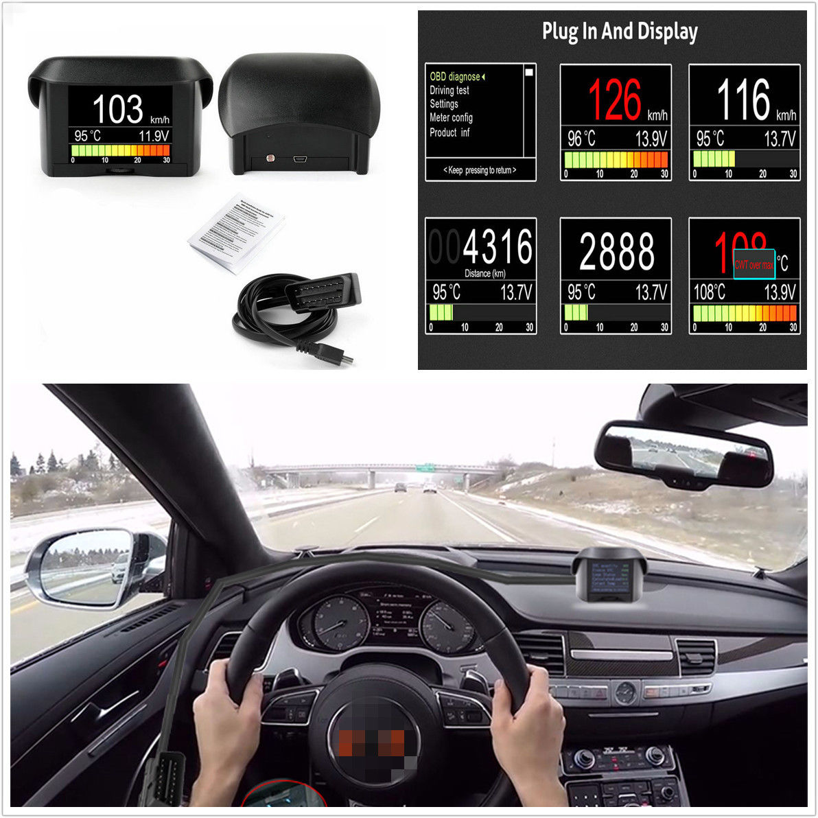 how to use trip meter in car