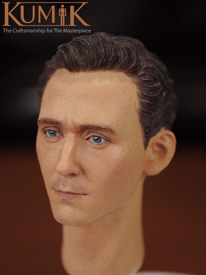 KUMIK 16-5 1//6 Scale THOR Loki Head Sculpt Tom Hiddleston Headplay