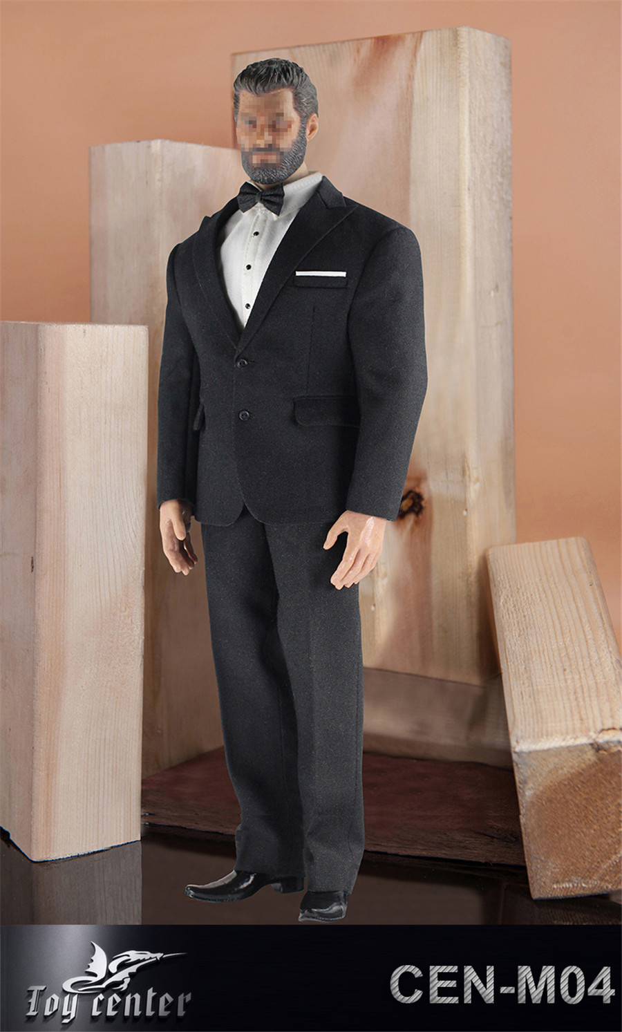 Toy Center CEN-M04 British Gentleman Suit Set 1//6 Formal Clothes F 12/'/' Male Bod
