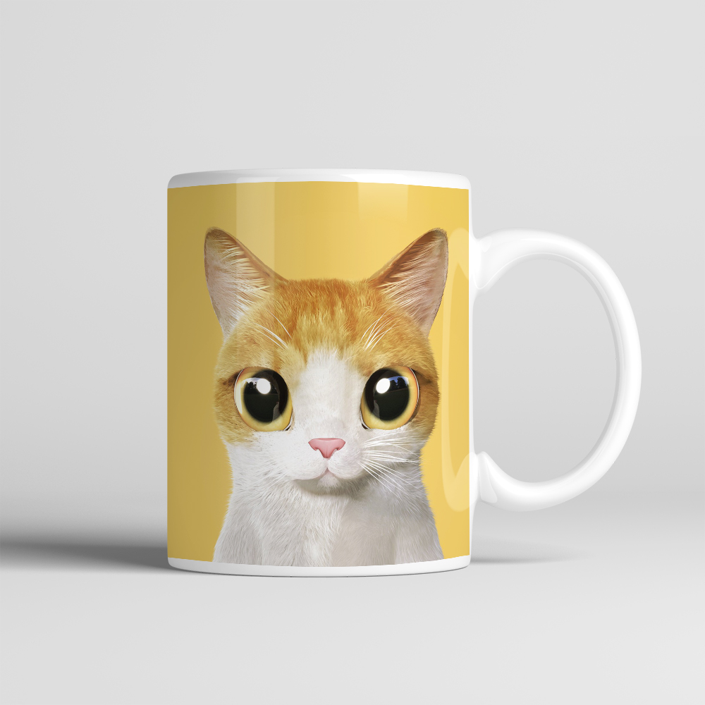 Lovely Cat Face Animal Pattern Pet Lover Coffee Mug Tea