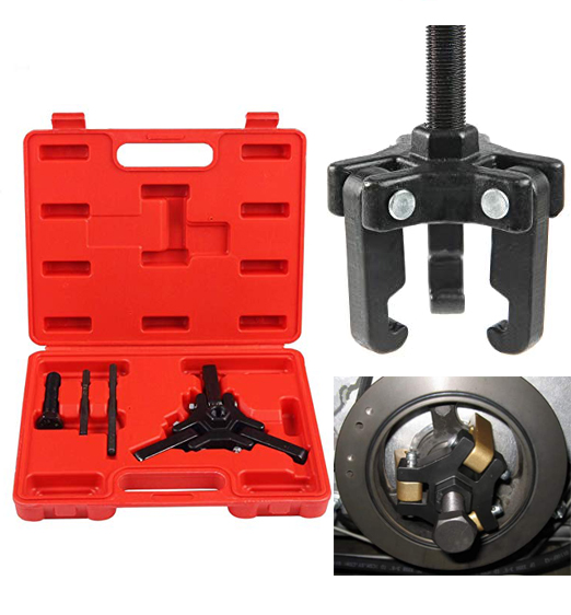 Harmonic Balancer Puller Kit Motor Engine Crank Pulley Balancer Removal Tool