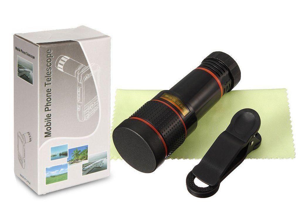 360 8x optical zoom hd telephoto telescope lens camera phone mobile