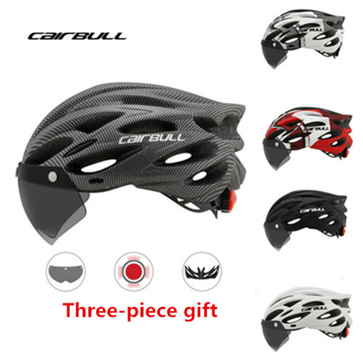Bicycle Helmet Road Cycling MTB Mountain Sport Safety Helmet W// Google TailLight