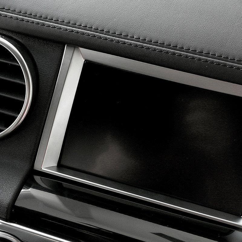 Land Rover Discovery 4 Lr4 2012 3d Model: Chrome Navigation Screen Frame Cover Trim For Land Rover